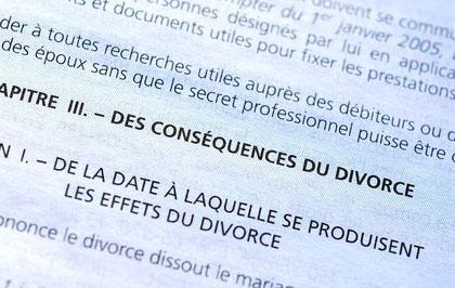 Divorce : Prestation compensatoire